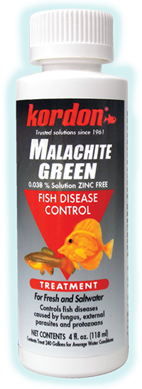 Kordon Products Kordon Malachite Green Fish Disease Control 4oz