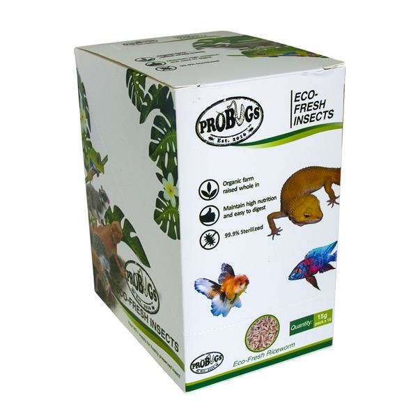 ProBugs ProBugs Eco-Fresh Riceworms Single Package