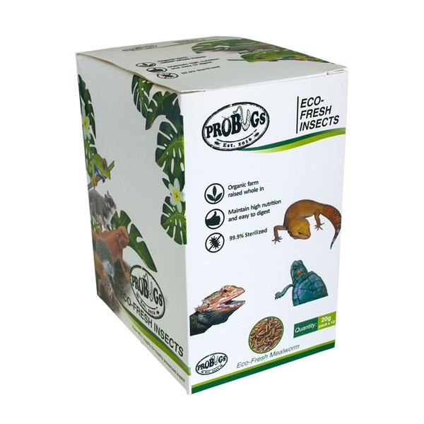 ProBugs ProBugs Eco-Fresh Mealworms  Single Package