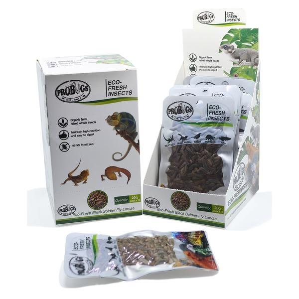 ProBugs ProBugs Eco-Fresh Black Soldier Fly Larvae Single Package