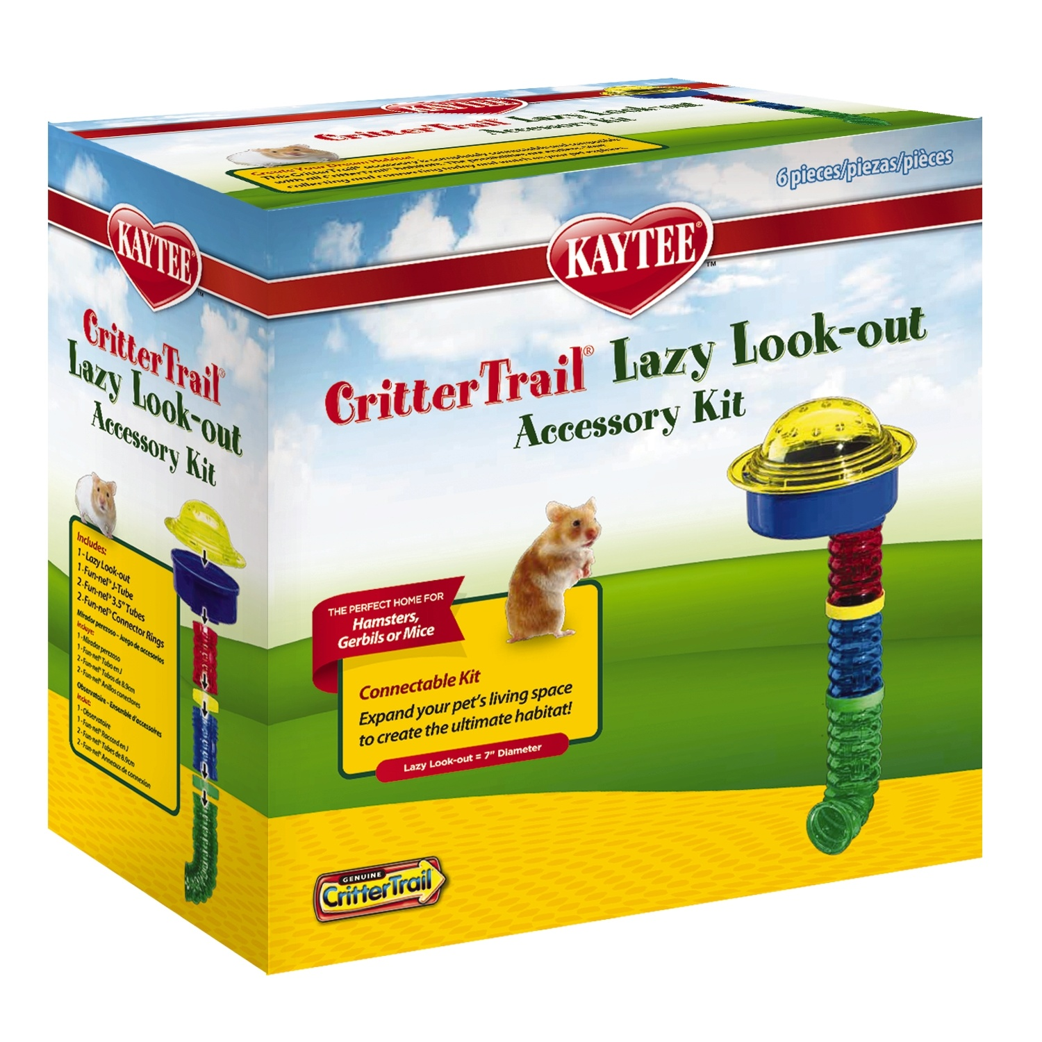 Kaytee Kaytee Critter Trail Lazy Look-Out Accessory Kit
