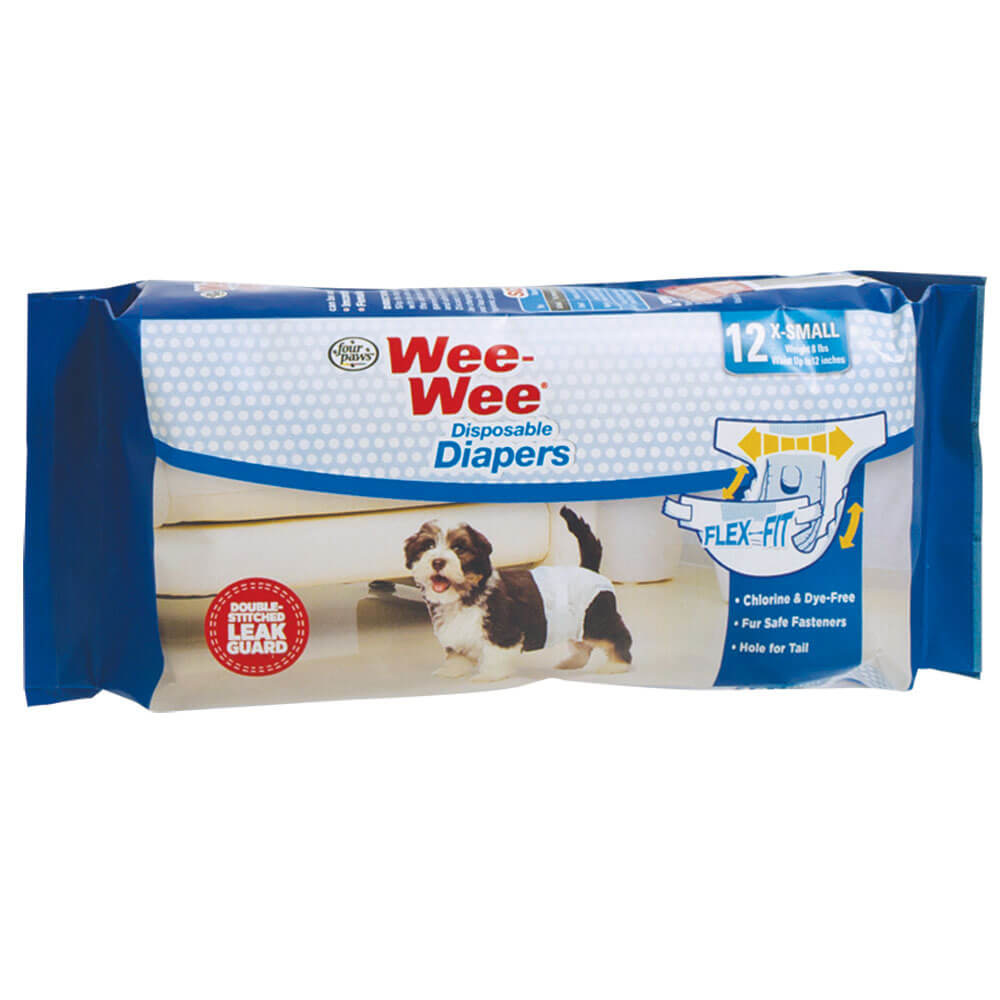 Four Paws Four Paws Wee-Wee Dispoable Diapers