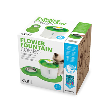 Cat It Cat It Flower Fountain Combo Set