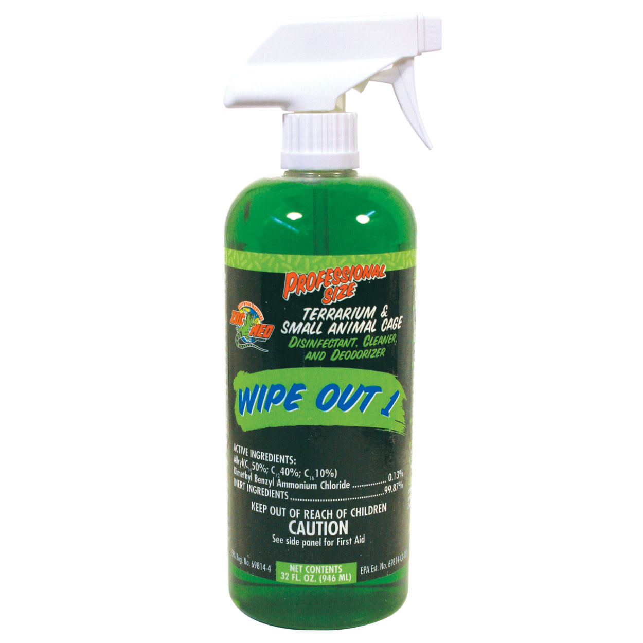 Zoo Med Laboratories Zoo Med Wipe Out