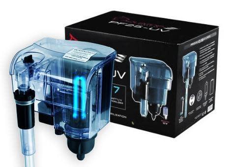 Aquatop Powerfilter W/ 7 Watt UV Sterilizer - 25 Gallon