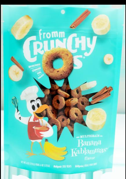 Fromm Family Pet Foods Fromm Crunchy O's Banana Kablammas 6oz