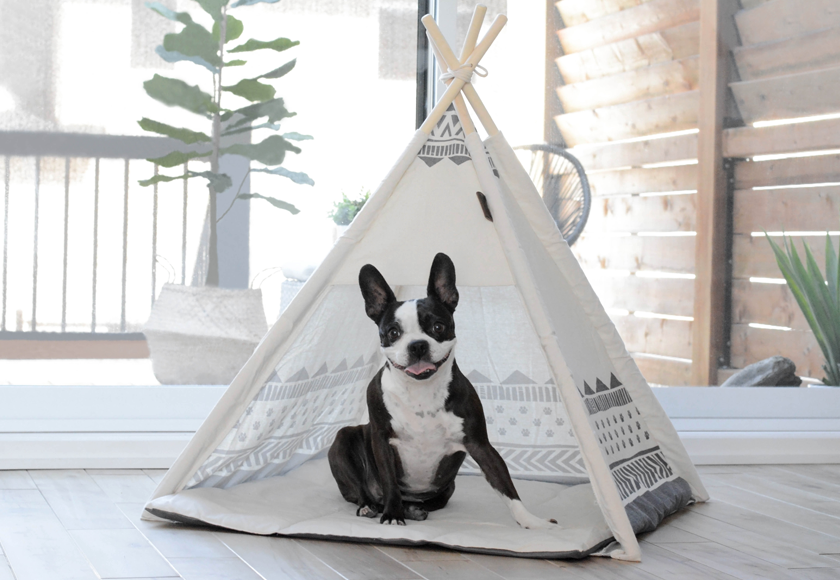 Be One Breed Be One Breed Dog Teepee- Aztec