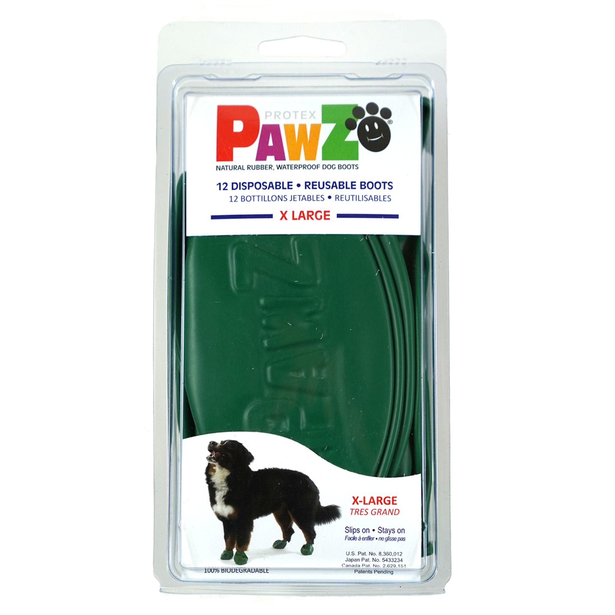 Pawz Products Pawz Boots Hunter Green XLarge