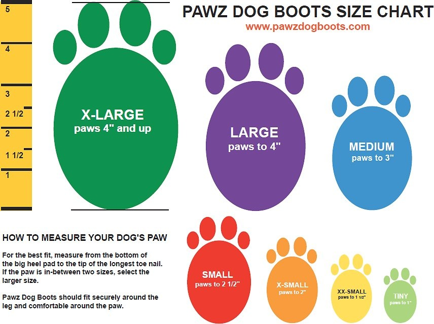 Pawz Products Pawz Boots  Purple Large