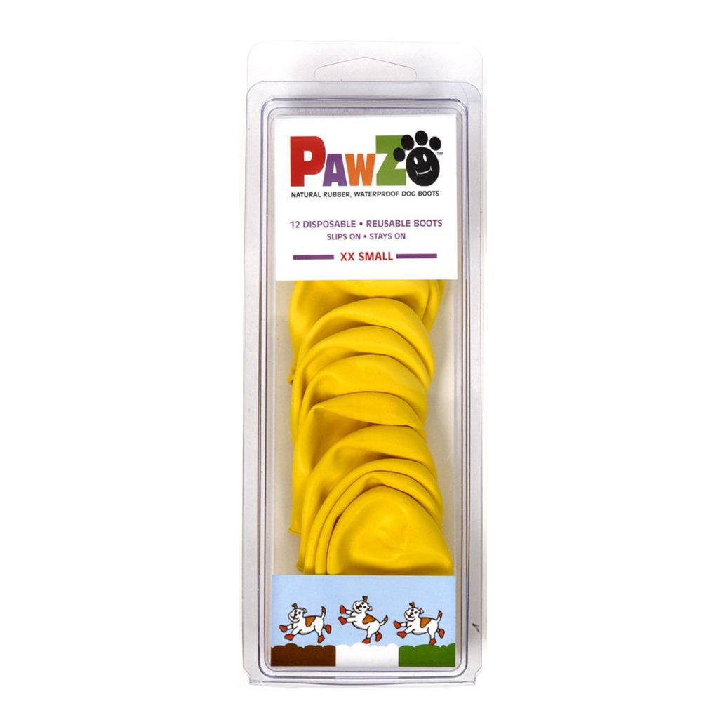 Pawz Products Pawz Boots  Yellow XXSmall