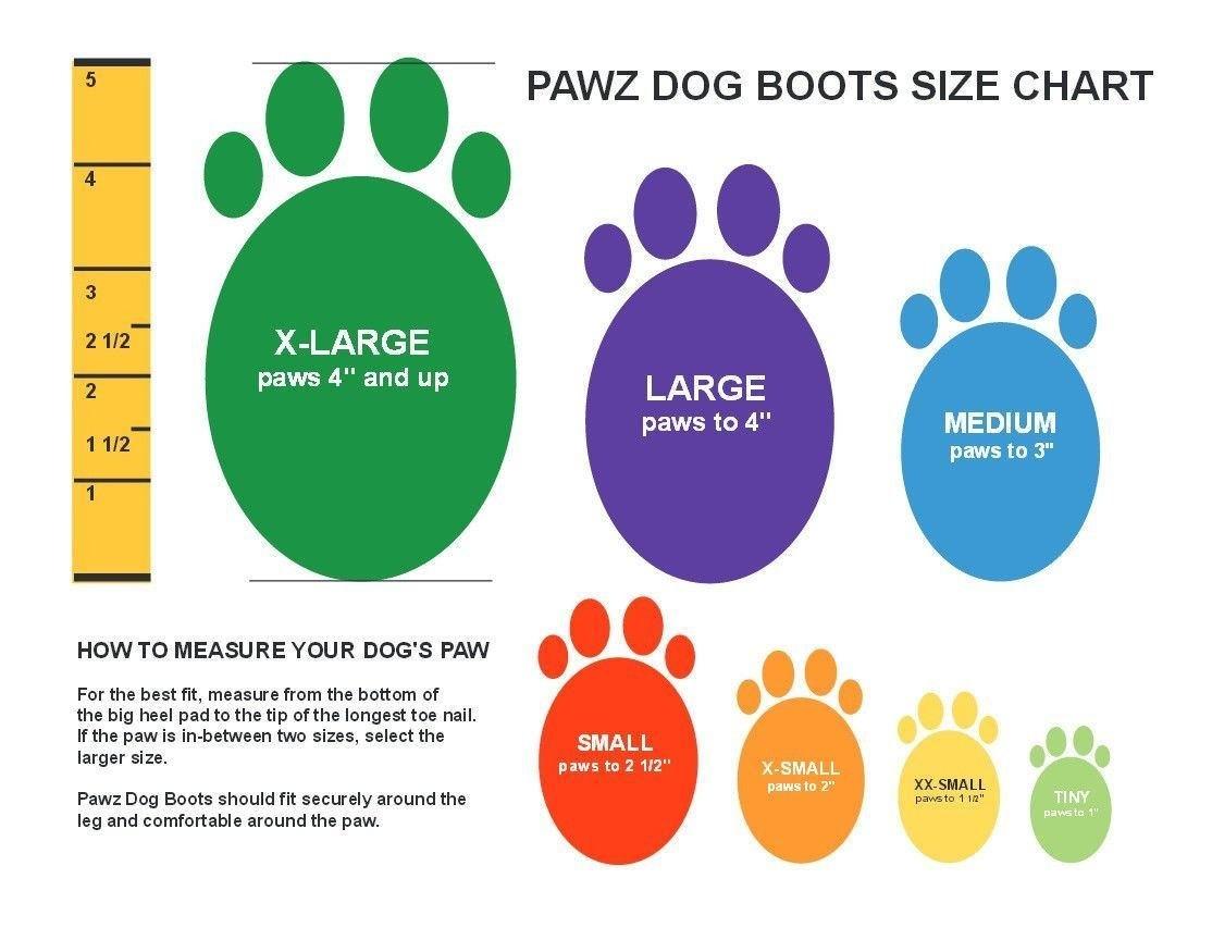 Pawz Products Pawz Boots  Orange XSmall