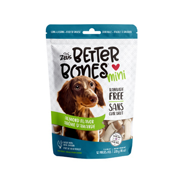Zeus Zeus Better Bones Mini Almond Flavor 12pc.