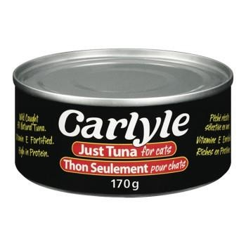 Carlyle Just Tuna For Cats 170g