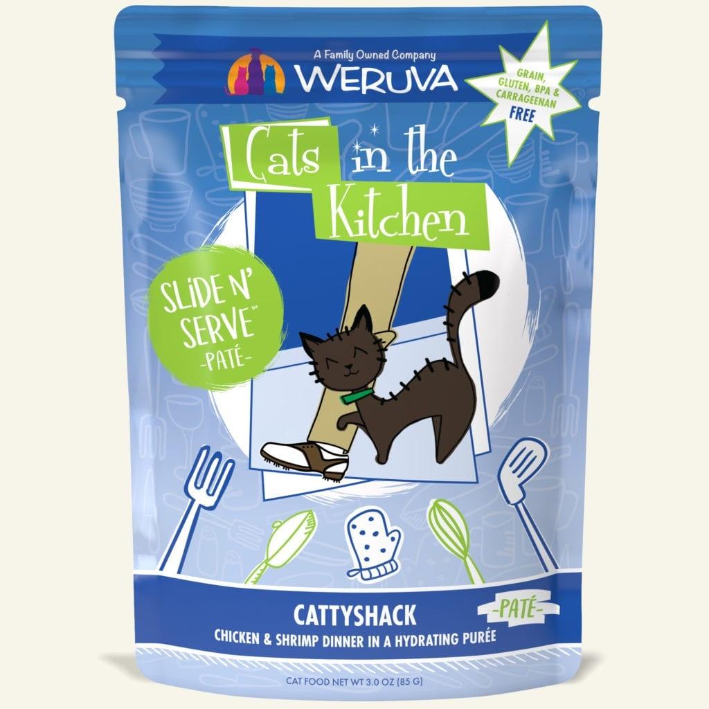 WeRuVa WeRuVa CITK Slide N' Serve CattyShack 3oz Pouch