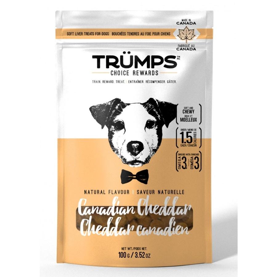 Spark Pet Treats Trumps Choice Rewards Canadian Cheddar 100 g