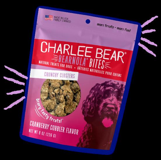 Charlee Bear Charlee Bear Bearnola Bites Cranberry Cobbler Flavor - 8oz