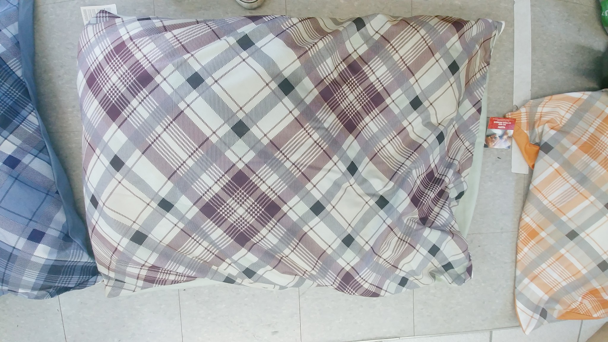 Burgham Cumfy Beds Burgham Green Spring Plaid Bed Assorted Colours