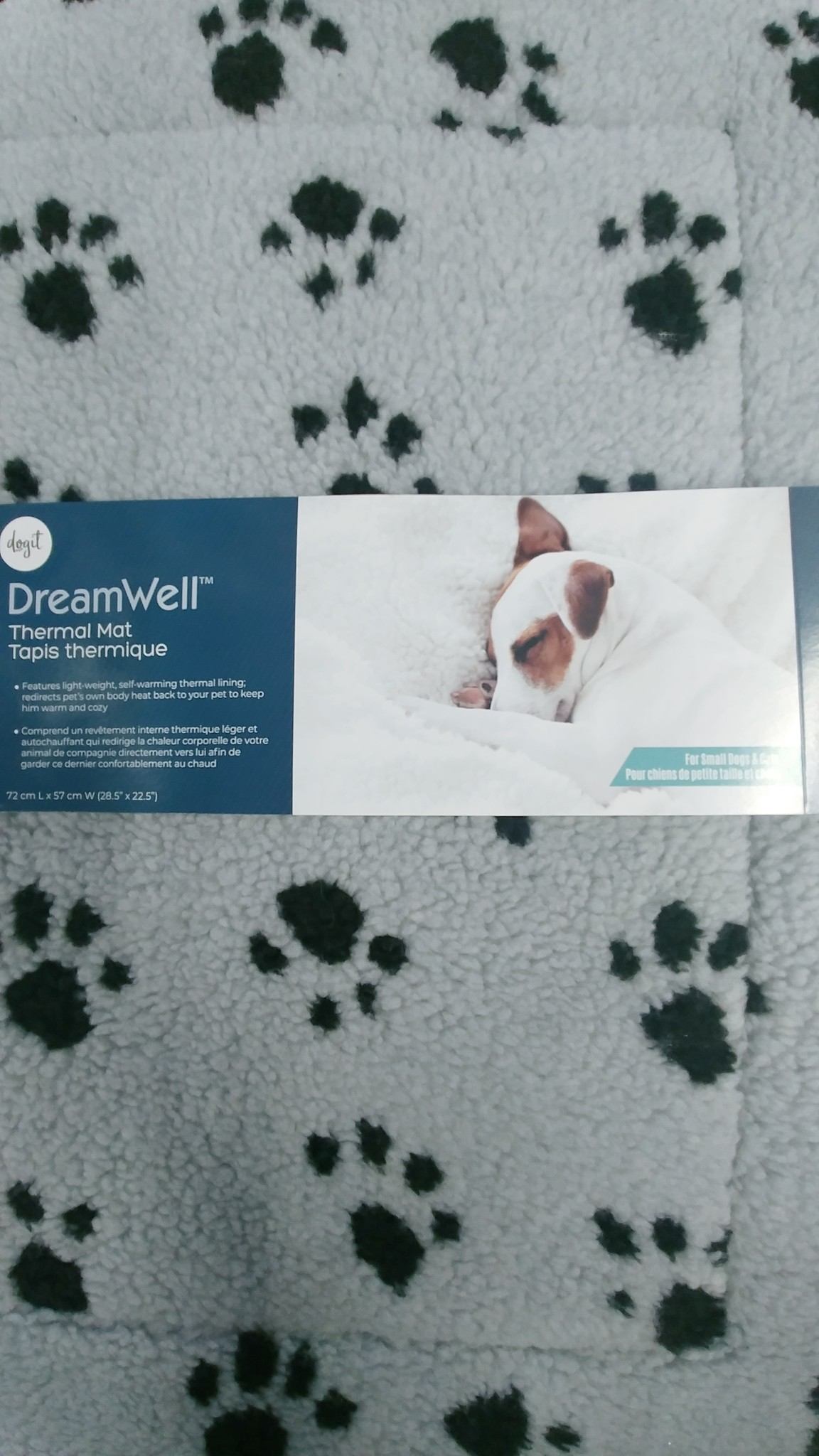 Dog It Dog It Dream Well Thermal Mat