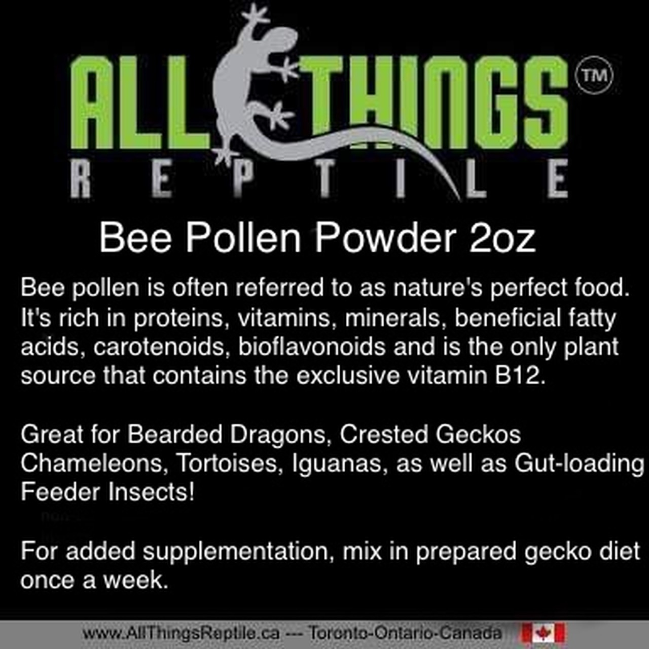 All Things Reptile All Things Reptile Bee Pollen 2 oz