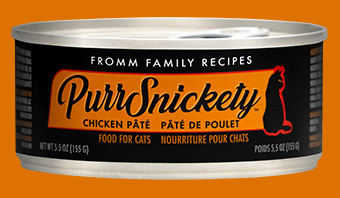 Fromm Family Pet Foods Fromm PurrSnickety Chicken Pate For Cats 5.5oz