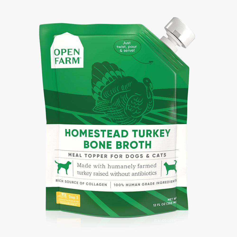 Open Farm Inc. Open Farm Turkey Bone Broth 12oz
