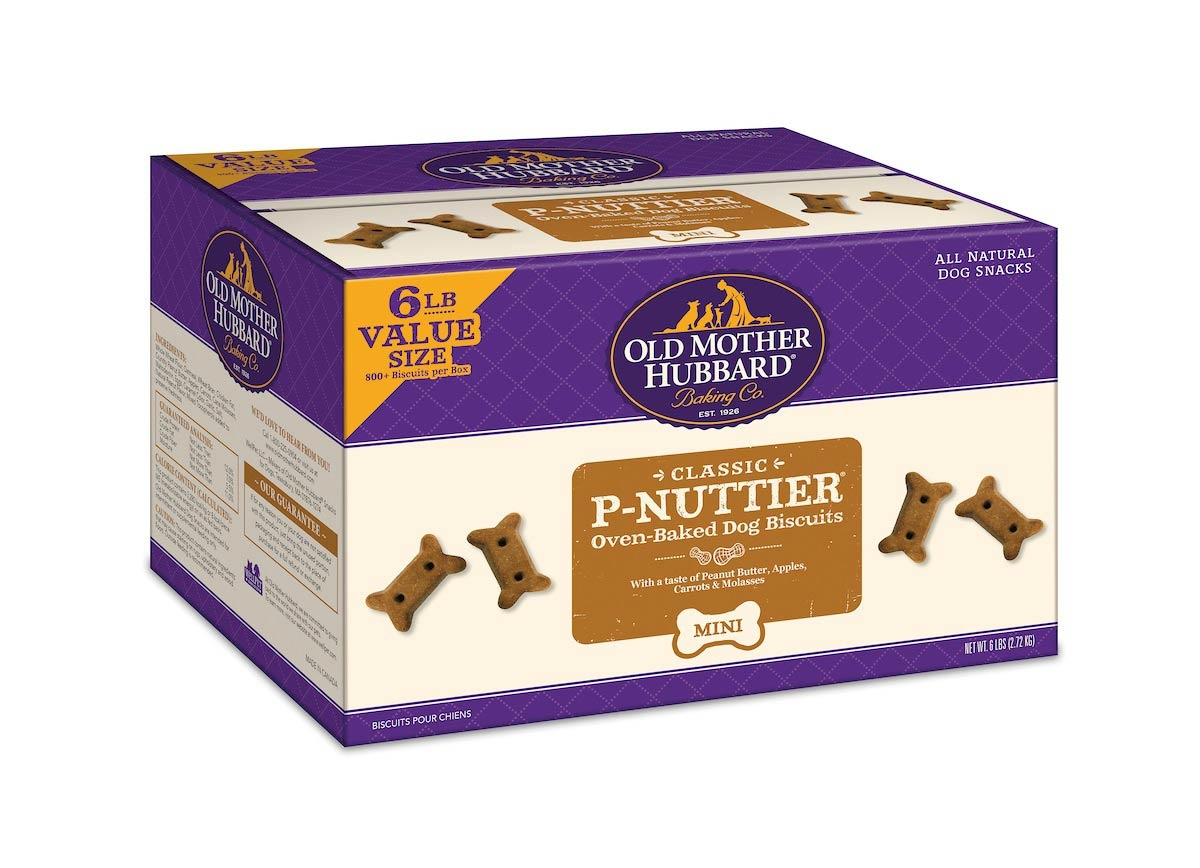 Well Pet Old Mother Hubbard P-Nuttier Mini Value Size 6lb