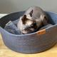 Be One Breed Be One Breed  Cat Cuddler Dark Grey