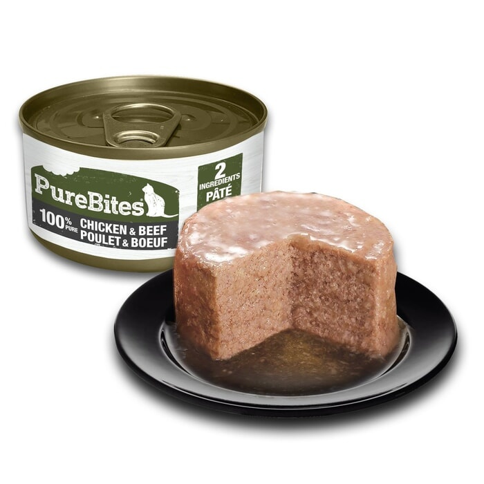 Pure Bites PureBites Protein Pate Chicken & Beef  For Cats 2.5oz