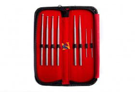 8 Piece Snake Probe Kit W/ Leather Case