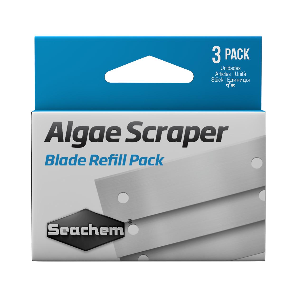 SEACHEM LABORATORIES Seachem Algae Scraper Blade Refill 3 Pack