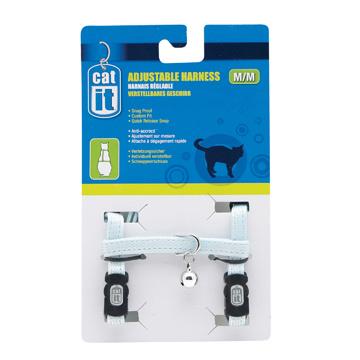 CatIt Catit Adjustable Nylon Cat Harness - Assorted Colours