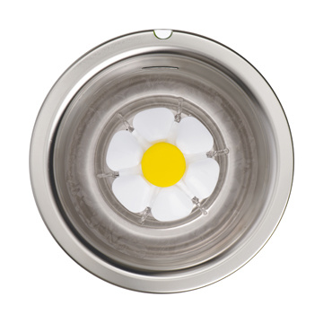 Cat It Catit Flower Fountain Stainless Steel Top