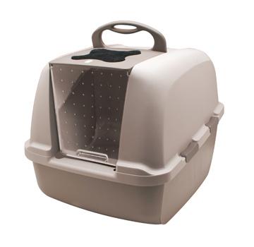CatIt Catit Jumbo Cat Litter Pan, Grey