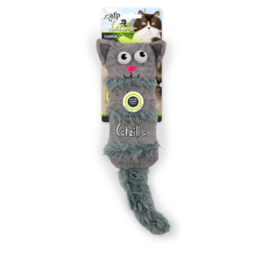 All For Paws AFP Catzilla Crinkle Cuddler