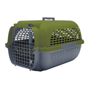 Dog It Dogit Voyageur Dog Carrier - Khaki/Charcoal - Large -