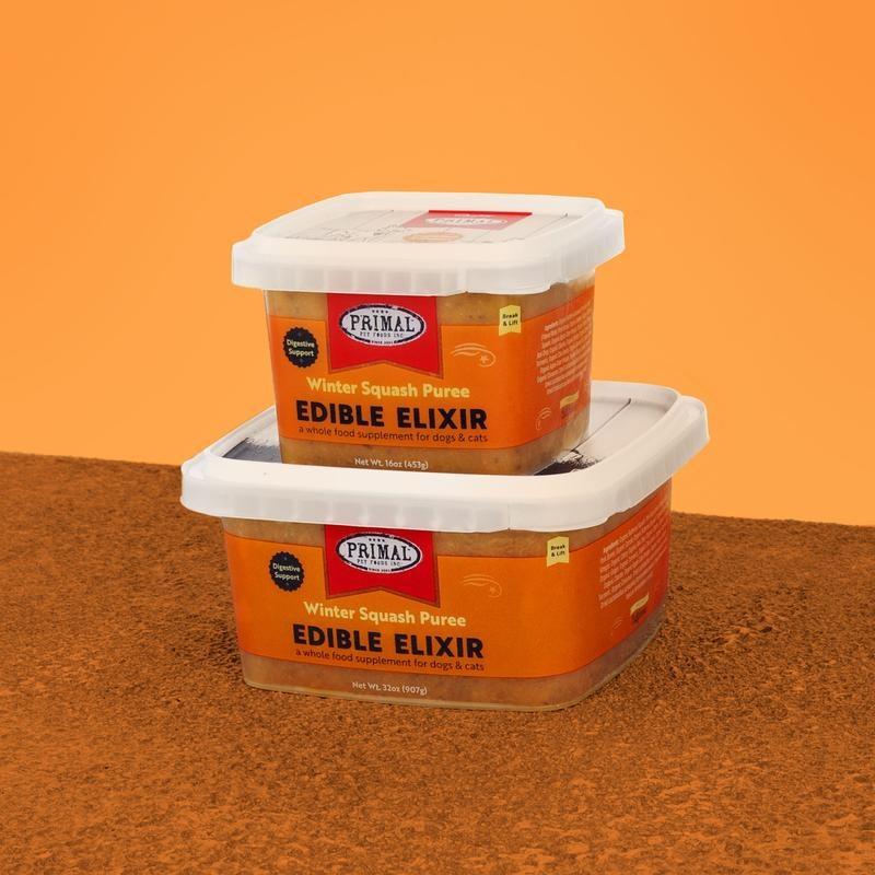 Primal Pet Foods Inc. Primal Frozen Edible Elixir: Winter Squash Puree for Dogs