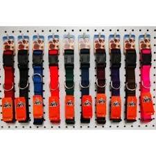 """Burgham AK-9 Nylon AK-9 Adjustable Collar 5/8"""" x 14-18"""""""