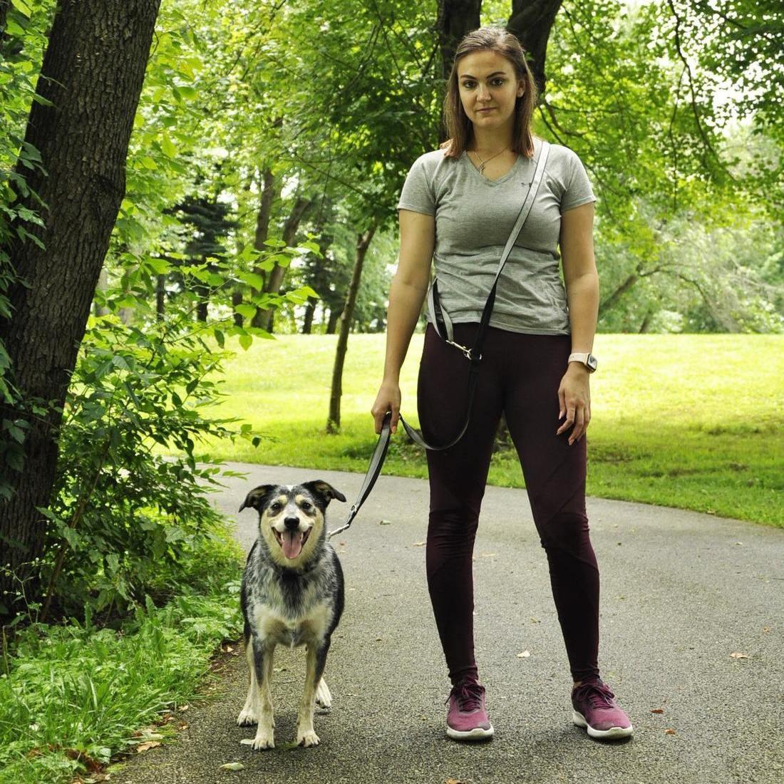 "Coastal Pet Products Coastal Multi-Function Dog Leash 3/4"" x 6' Black"