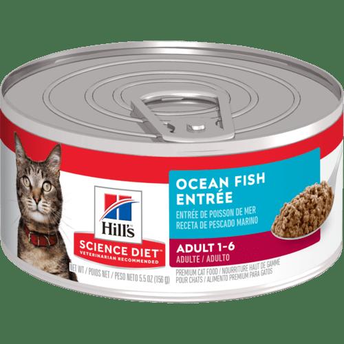 Hills Hills Science Diet Ocean Fish Entree (Adult 1-6) 5.5 oz