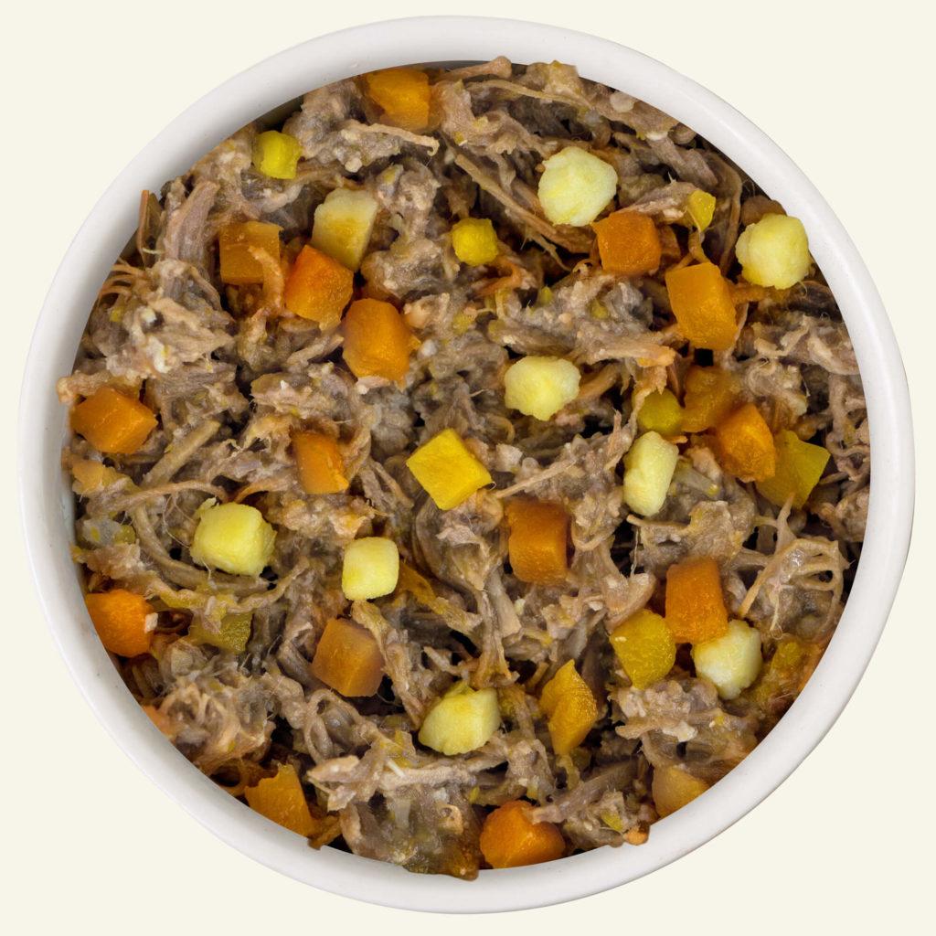 WeRuVa Weruva Dogs in the Kitchen Steak Frites With Beef Pumpkin & Sweet  Potato In Gravy 14oz