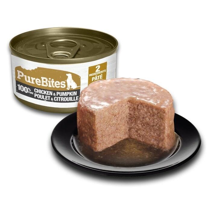 Pure Bites PureBites Protein Pate Chicken & Pumpkin  For Dogs 2.5oz