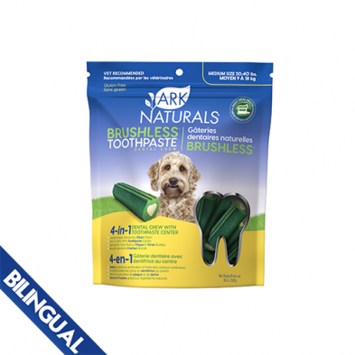 Ark Naturals Company Ark Naturals Brushless Toothpaste Medium 20 - 40 lb