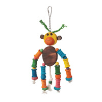 Hari Hari Smart Play Enrichment Parrot Toy -Monkey King