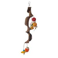 Hari Hari Smart Play Enrichment Parrot Toy Vertical Wacky Perch