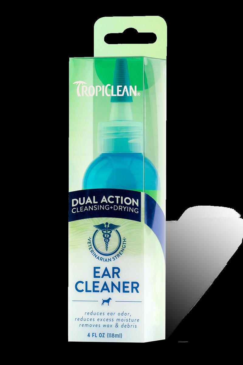 TropiClean Tropiclean Ear Cleaner Dual Action 4oz