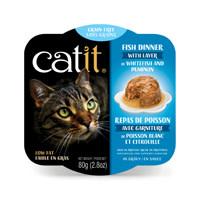 CatIt Catit Fish Dinner with Whitefish & Pumpkin - 80 g (2.8 oz)