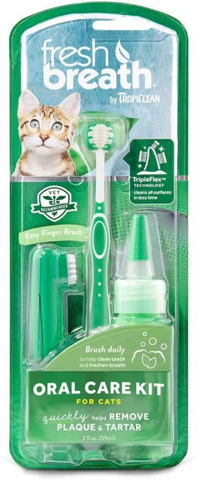 TropiClean Tropiclean Oral Care Kit For Cats