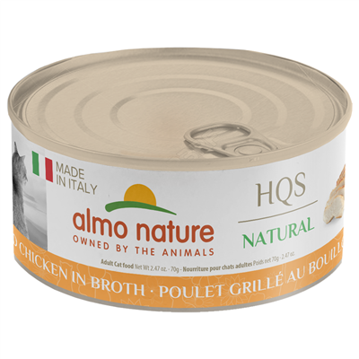 Almo Nature Almo Nature HQS Natural Made in Italy Grilled chicken in Broth 70g