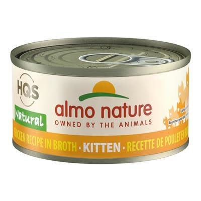 Almo Nature Almo Nature HQS Complete Chicken in Broth For Kittens  70 g