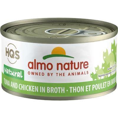 Almo Nature Almo Nature HQS Tuna And Chicken in Broth 2.47oz